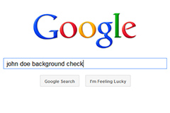 Employee Background Check Google